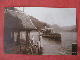 RPPC  Rulti Steamer   Stamp & Cancel     Ref 3327 - Other