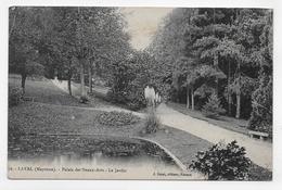 LAVAL - N° 72 - PALAIS DES BEAUX ARTS - LE JARDIN - CPA VOYAGEE - Laval