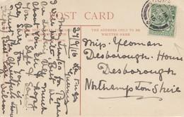 England: 1916: Ansichtskarte Guernsey Nach England - Guernsey