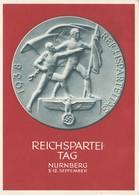 Propagandakarte: Reichsparteitag 1938 - Ganzsache - Allemagne