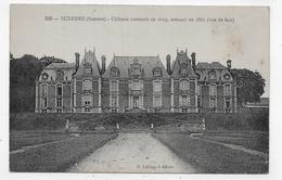 SUZANNE - N° 330 - CHATEAU CONSTRUIT EN 1619 ET RESTAURE EN 1861 - CPA NON VOYAGEE - Autres Communes