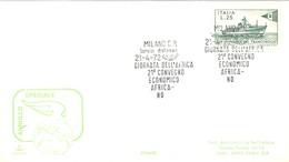 POSTMARKET  1972  MILANO - 6. 1946-.. República