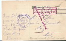 Ger433 / DEUTSCHLAND - Kriegsgefangenenpost Aus Minden Mit Sehr Klaren Stempeln 1915 - Alemania