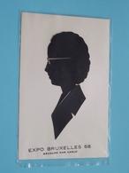 EXPO Bruxelles '58 ( Découpé Par CARLO ) Anno 1958 ( Zie/voir Photo ) 2 Carte ! - Wereldtentoonstellingen