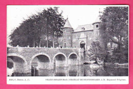 Groot-Bijgaarden Dilbeek Château De Grand-Bigard à M. Raymond Pelgrims éd. C. Baune A17 Imp. L. Van Der Aa CPA Non Circ. - Dilbeek