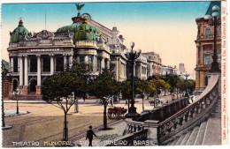 Rio De Janeiro - Theatro Municipal - Brasil - Rio De Janeiro