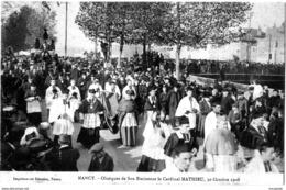 CPA NANCY(54) -  OBSEQUES DE SON EMINENCE  MATHIEU      Bb-152 - Nancy