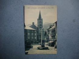 GUILLESTRE  -  05  -  La Place  -  Le Queyras  -  Hautes Alpes - Guillestre