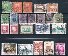 Lot Peru (siehe Bild) - Peru