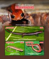 Guyana 2018 Fauna  Salamanders  I201901 - Guyana (1966-...)