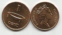 Fiji  1 Cent 1987. High Grade - Figi