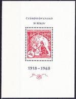 ** Tchécoslovaquie 1968 Mi 1831 - Bl.30 (Yv BF 36), (MNH) - Czechoslovakia