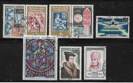 France Timbres De 1964  N°1414 A 1421  Obliteres - France