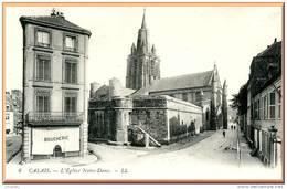 CPA DE CALAIS (62) -  LA BOUCHERIE PRES DE L EGLISE -  Bb-162 - Calais