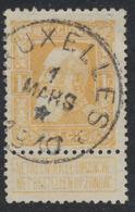 """Grosse Barbe - N°79 Obl Simple Cercle """"Bruxelles"""" + étoile Dans Le Dateur. Beau Centrage - 1905 Thick Beard"""