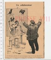Presse 1911 Humour Allusion Pièce De Théatre Chantecler Sortie En 1910 (Edmond Rostand) Coq Hibou Moulin à Vent CHV7 - Vieux Papiers