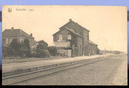 Cpa Caprijcke  Gare - Kaprijke