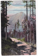 Cascade Mt. From Sulphur Mt., Banff - (Canadian Pacific Railway)  - Canada - Banff