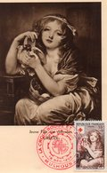 Croix Rouge 1954greuze - Red Cross