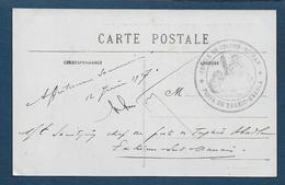 Cachet Cercle De Colomb Béchard * Poste De Taghit Abadla * - WW I
