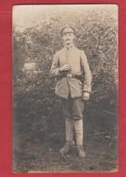 Carte Photo Soldat Allemand 14-18 - Militaria