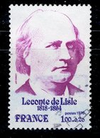 France 1978 - Oblitéré Used - Y&T N° 1988 - Leconte De Lisle - Gebraucht