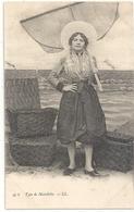 47b. TYPE DE MATELOTE . DOS NON DIV NON ECRITE - Boulogne Sur Mer