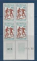 "Maroc Coins Datés YT 418 "" JO Rome "" Neuf** Du 5.9.60 - Morocco (1956-...)"