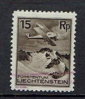 LIECHTENSTEIN...used...1930..Airpost - Air Post