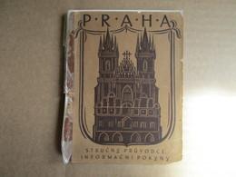 Praha - éditions De 1922 - Books, Magazines, Comics