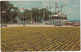Toronto - Coulourful Flower Beds Greet Passengers At Centre Island Ferry Terminal - (Canada) - Toronto