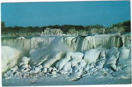American Falls In Winter Splendour From Niagara Falls, Canada - Niagara Falls
