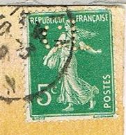 PERFORATION CL(?) SUR SEMEUSE CAD ORAN ALGERIE - France