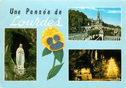 Lot De 25 CPSM LOURDES-Toutes Scannées-1      L2833 - Postcards