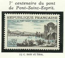 FRANCE - 1966 - 7ème ANNIVERSAIRE DU PONT DE PONT-SAINT-ESPRIT - YT N° 1481 - TIMBRE NEUF** - Frankreich