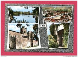 CPSM (Réf : B 156) 16 C I Souvenir De ST-MËME-les-CARRIÈRES (16 CHARENTE) MULTI VUES - Francia