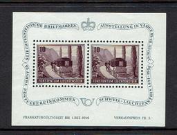 LIECHTENSTEIN...1946..MNH - Blocks & Sheetlets & Panes