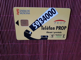 Phonecard Spain Used - Espagne