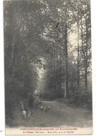 CAMPIGNEULLES-les-GRANDES Par MONTREUIL-SUR-MER . LE CHATEAU D'EN HAUT . SOUS BOIS PRIS DE L'ENTREE . AFFR LE 8-9-1909 - Montreuil