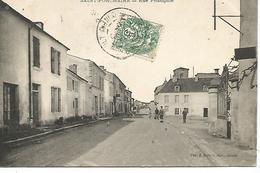 Ac8/       18    Saint-porchaire     Rue Principale     (animations) - France