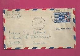 Lettre De 1947 Pour La Suisse  - YT N° 273 - Série De Londres - Cameroun (1915-1959)