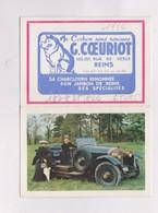 PETIT CALENDRIER  1966 (en 4 Volets) A COCHON COEURIOT A REIMS - Calendars