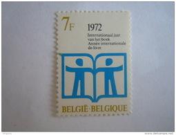Belgie Belgique 1972 Jaar Van Het Boek Année Internationalde Du Livre Yv COB 1618 MNH ** - Belgien