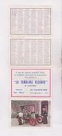 PETIT CALENDRIER  1966 (en 4 Volets) LA TERRASSE FLEURIE - Calendars