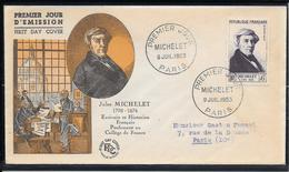 FDC 1953 - 949 Michelet - 1950-1959
