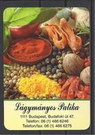 Hungary, Pharmacy Ad, Spices(?), 2019. - Calendars
