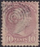 Canada    .   SG      .     87       .        O      .   Cancelled       .   /    .   Gebruikt - 1851-1902 Regering Van Victoria