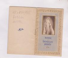 CALENDRIER 1951 PETIT FORMAT ALMANACH MARIA 1 A LOURDES - Calendriers