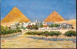 Egypt Mint PPC, Mena House Hotel - Pyramids