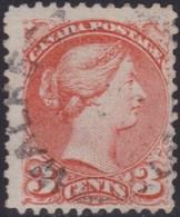 Canada      .   SG  .       96  .  11½x12       .        O      .   Cancelled       .   /    .   Gebruikt - 1851-1902 Regering Van Victoria
